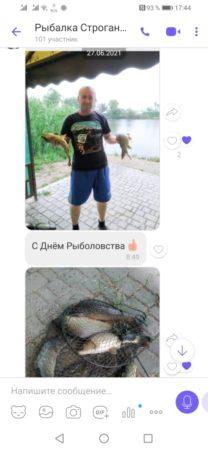 Отзыв рыбалка Строгоновка